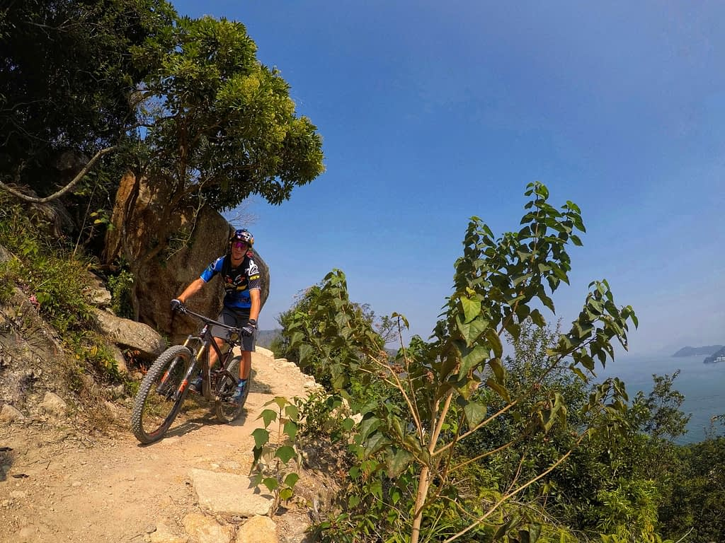 MountainBikeTrails HongKong LantauMuiwo PracticeGround ClimbTrail MartinMaes