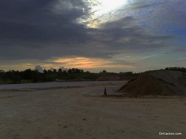 Tampines Bike Park sits quiet for this monster big BMX track