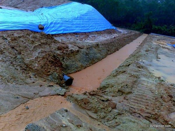 main earth drain