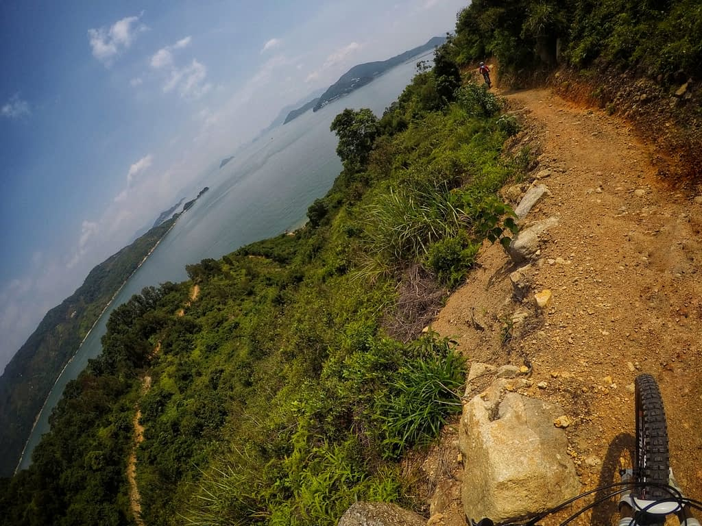 MountainBikeTrails HongKong LantauMuiwo PracticeGround ClimbTrail