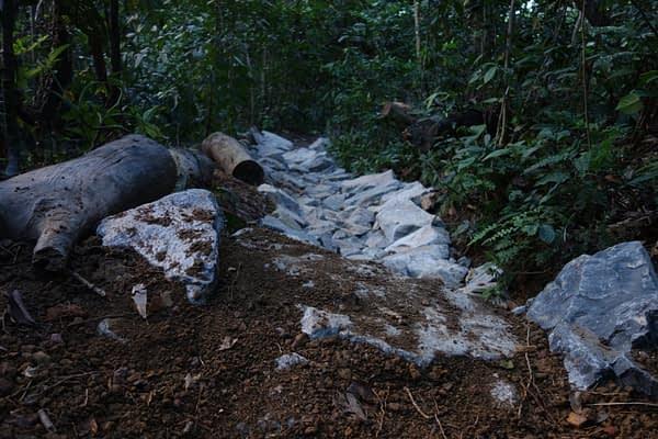 MountainBikingTrail Singapore BukitTimah RockandDrop