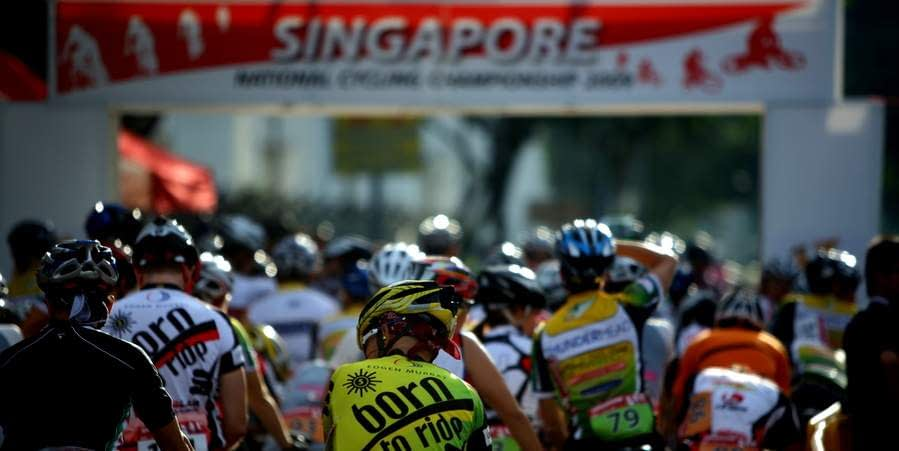 Singapore National Road Cycling Championship 2009 - Kaki Bukit Circuit